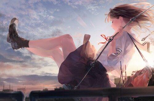 水手服女生
