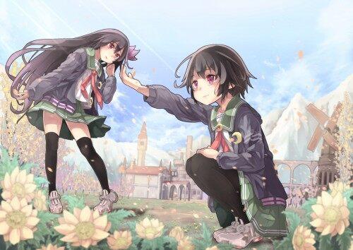 Konachan.com---200413-2girls-flowers-kantai-collection-kisaragi-kancolle-long-hair-mutsuki-kancolle-petals-saraki-seifuku-short-hair-skirt-thighhighs-windmill195154c21f7758dc217d8f23833a0e0f.jpg